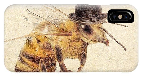 Bee iPhone Case - Worker Bee by Eric Fan