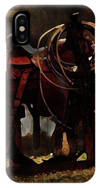 Working Man's Saddle IPhone Case