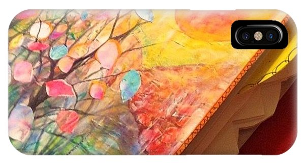 Watercolor iPhone Case - Working On Some #handmade #artjournals by Robin Mead