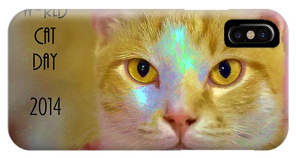 World Cat Day IPhone Case