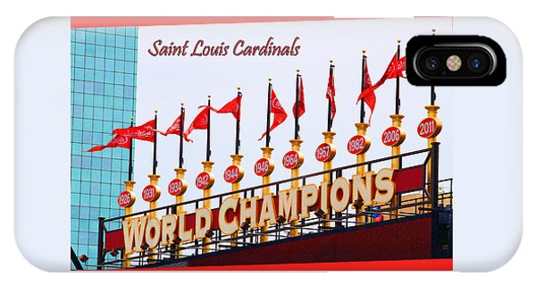 World Champions Flags IPhone Case