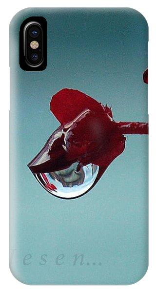 World In A Drop IPhone Case