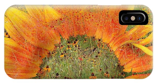 World Of Flowers IPhone Case