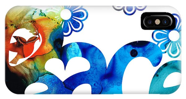 Peace iPhone Case - World Peace 3 - Loving Art by Sharon Cummings