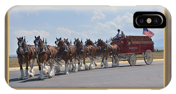 World Renown Clydesdales IPhone Case