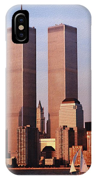 World Trade Center 1999 IPhone Case