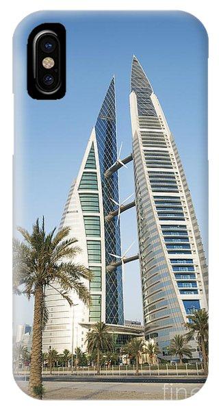 World Trade Center Manama Bahrain IPhone Case