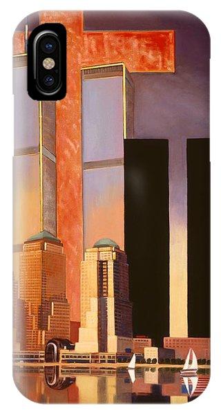 World Trade Center Memorial IPhone Case