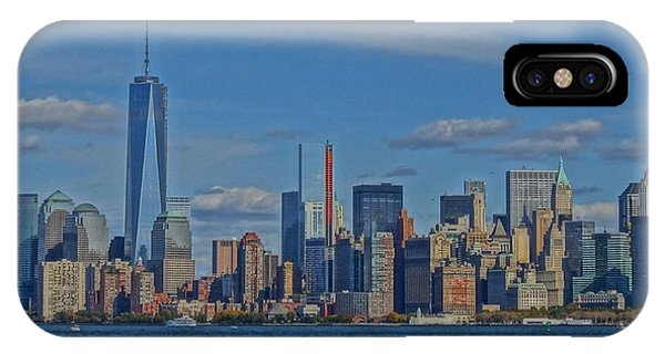 Battery D iPhone Case - World Trade Center Painting by Dan Sproul