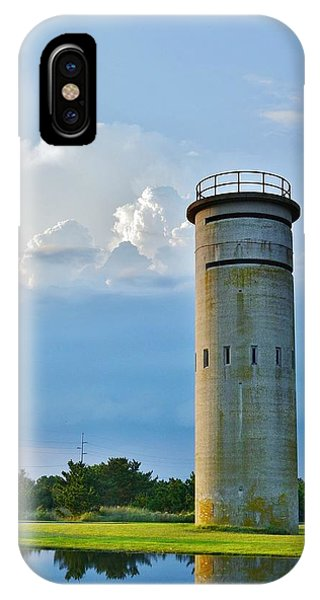 World War II Lookout Tower - Tower Road - Delaware State Park IPhone Case