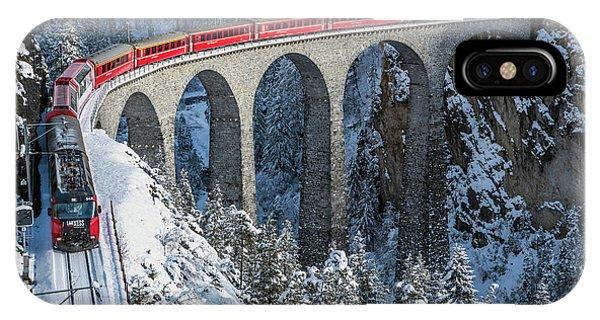 World's Top Train - Bernina Express IPhone Case