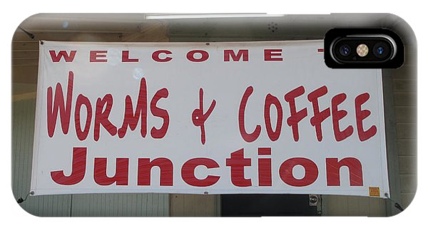 iPhone Case - Worms And Coffee Junction by Barbara McDevitt