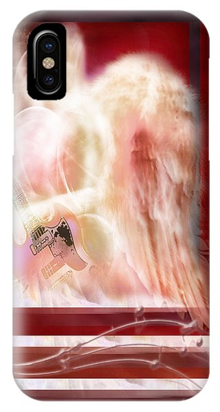 IPhone Case featuring the photograph Worship Angel by Jennifer Page