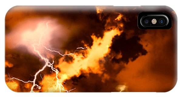 Wrath Of Zeus IPhone Case