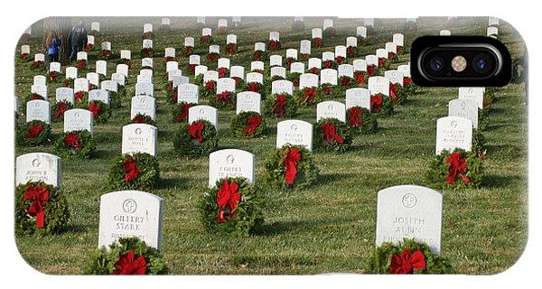 Wreaths Around America IPhone Case