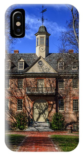 Wren Building Main Entrance IPhone Case