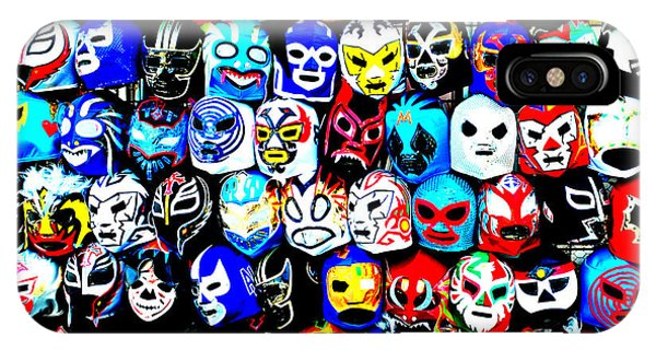 Wrestling Masks Of Lucha Libre Altered IPhone Case