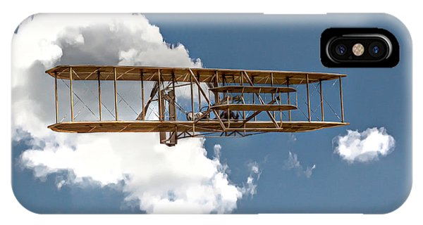Wright Brothers First Flight IPhone Case