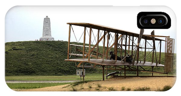 Wright Brothers Memorial At Kitty Hawk IPhone Case