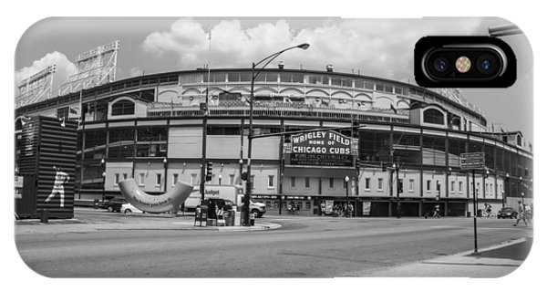 Wrigley Black And White Outside  IPhone Case