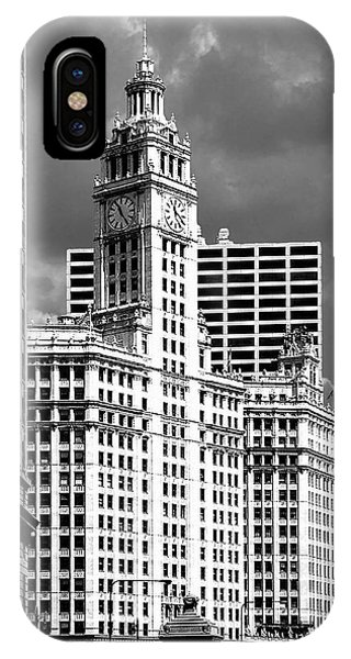 Wrigley Building Chicago Illinois IPhone Case