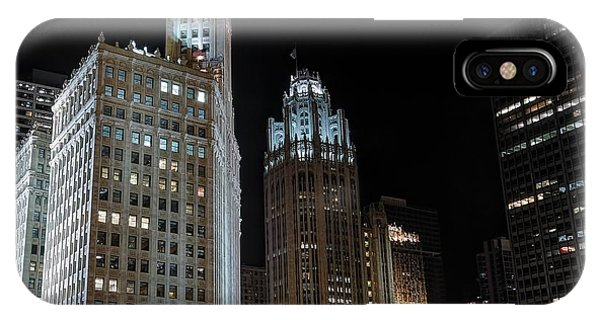Wrigley Building IPhone Case