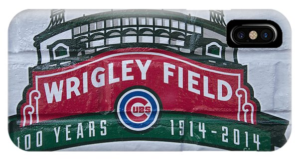Wrigley Field At 100 Phone Case by David Bearden