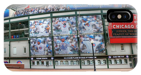 Wrigley Field On Clark IPhone Case