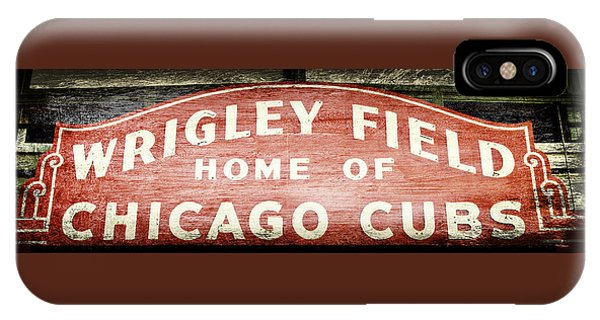 Wrigley Field Sign - No.2 IPhone Case