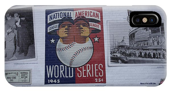 Wrigley Images - 1945 Phone Case by David Bearden