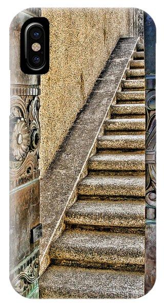 Wrigley's Bronze Doors By Diana Sainz IPhone Case