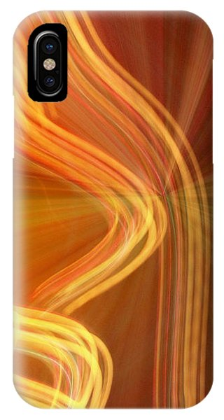 Write Light Shapes IPhone Case