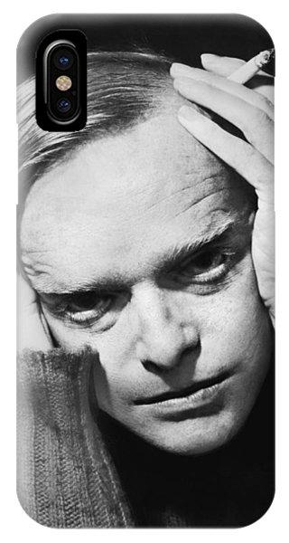 Writer Truman Capote IPhone Case
