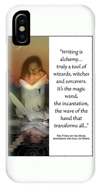 Writing Is Alchemy IPhone Case