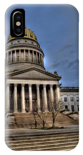 Wv Capital Building 2 IPhone Case