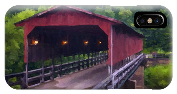Wv Covered Bridge IPhone Case