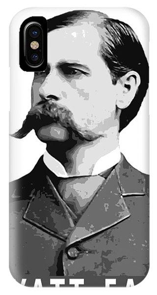 Ok iPhone Case - Wyatt Earp Legend Of The Old West by Daniel Hagerman