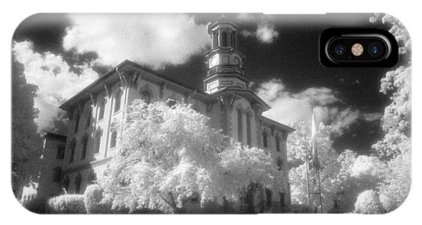 Wyoming County Courthouse IPhone Case