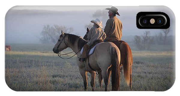 Wyoming Ranch IPhone Case