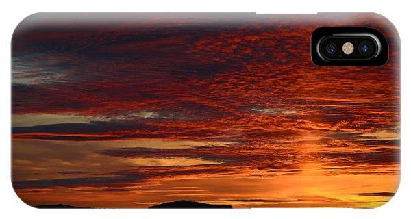 Wyoming Sunset #1 IPhone Case