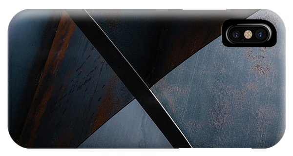 Metal iPhone Case - X by Luc Vangindertael (lagrange)