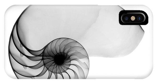 X-ray Of Nautilus IPhone Case