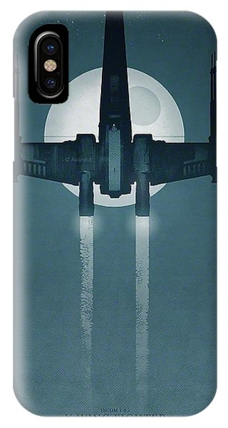 X Wing Fighter Phone Case by Baltzgar