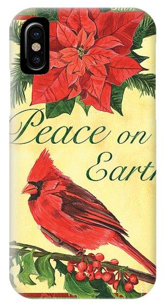 Cardinal iPhone Case - Xmas Around The World 1 by Debbie DeWitt