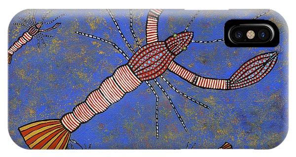 Far North Queensland iPhone Case - Yabbies by Clifford Madsen