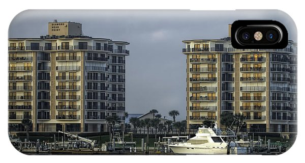 Yacht And Condo IPhone Case