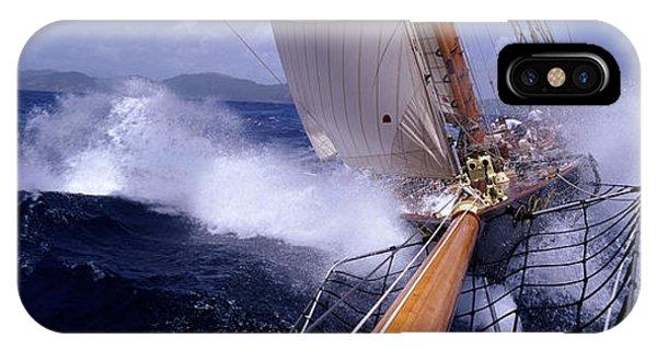Yacht Race, Caribbean IPhone Case