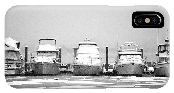 Yacht Row IPhone Case