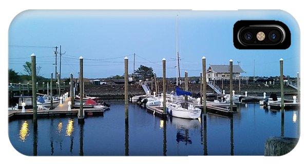 iPhone Case - Yachts In Dock by Scott Decker