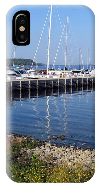 Yachtworks Marina Sister Bay IPhone Case